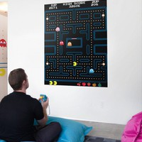 Blik Wall Decals: Pac-Man Maze Re-Stik