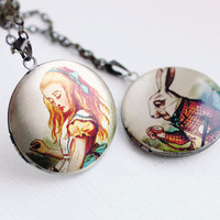 Alice in Wonderland Locket                      by Candidate