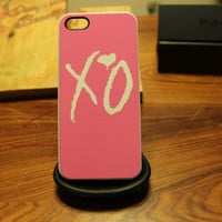 Weeknd / Pink XO / Overdose / Drake / OVO / Apple Iphone 4 4s / 5