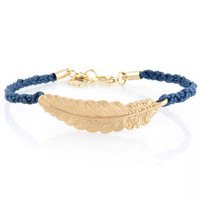 Friendship Bracelet - Feather Bracelet - $11.00