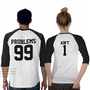 Couples 99 Problems Ain&#x27;t 1 - 3/4 Sleeve Raglan from Zazzle.com