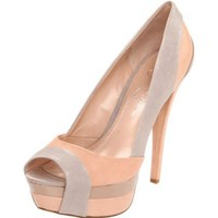 Jessica Simpson Weema Open-Toe Platform Pump - designer shoes, handbags, jewelry, watches, and fashion accessories | endless.com