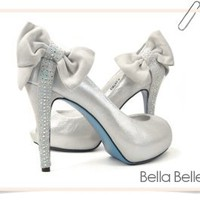 Bleu High Heels By Bella Belle Shoes