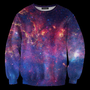Mr. GUGU & Miss GO :: OUTERWEAR :: Purple nebula sweater