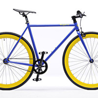 Fixie: Blue and Yellow | Pure Fix Cycles