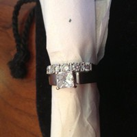 Have You Seen the Ring?: EGL Certified Princess Cut Diamond Ring