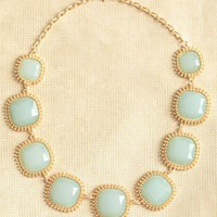 mint delight necklace at ShopRuche.com