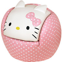 Hello Kitty Peek-A-Boo Chair and Ottoman