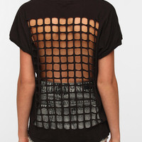 Truly Madly Deeply Grid-Back Tee