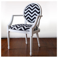 Chevron Louis XV Chair Heima Store