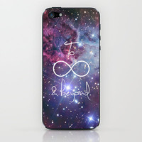 To Infinity and Beyond Galaxy Nebula iPhone & iPod Skin by RexLambo | Society6