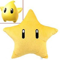Cute Super Mario Figure Shaped Soft Plush Fluffy Doll Toy - Star [4124] - US$6.82 - China Electronics Wholesale - FlyDolphin.com