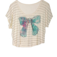 Bow-Mance Tee