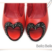 Amore High Heels by Bella Belle Shoes