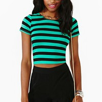 Finish Line Crop Top
