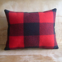 Pendleton Lumberman Pillow 14x17 by RobinCottage on Etsy