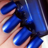 New! ESSIE ♥ ARUBA BLUE ♥ Beautiful SHIMMER Nail Polish~ Full Size!