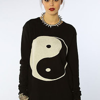 Mad Love The Ying Yang Sweater Dress : Karmaloop.com - Global Concrete Culture