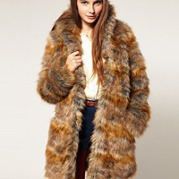 ASOS | ASOS Premium 70's Oversized Faux Fur Coat at ASOS