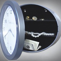 Wall Clock Hidden Safe - $11 | The Gadget Flow