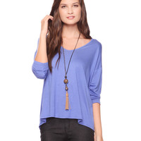 3/4 Slv Jersey Tunic | FOREVER21 - 2000021659