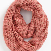 Trouv Textural Knit Infinity Scarf | Nordstrom