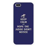 Funny Keep Calm Horse Show iPhone 5 Case> iPhone 5 Cases & Covers> Patty's Pet Art