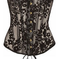 Agent Provocateur | Janey underwired lace corset | NET-A-PORTER.COM