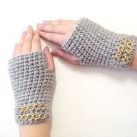 Fingerless Gloves, Mink Gloves, Adult fingerless gloves, Wrist warmer, Winter gloves, winter gifts,