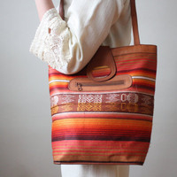 southwestern shoulder bag by Thrush on Etsy