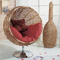 Modern Rattan Chairs - OpulentItems.com