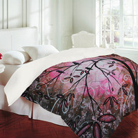 Madart Inc. Cherry Blossoms Duvet Cover