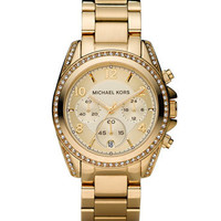 Michael KorsGolden Runway Watch with Glitz - Michael Kors