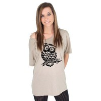 Owl American Apparel Tunic by rainbowswirlz on Etsy