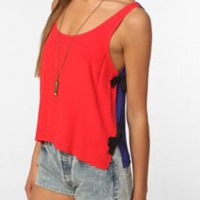 $49.00 Cooperative Side-Tie Crepe Tank - Urban Outfitters