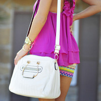 Rodeo Drive Purse: White | Hope&#x27;s
