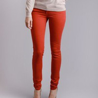 Celebrity Pink Red Skinny Jean in Bottoms at Frock Candy