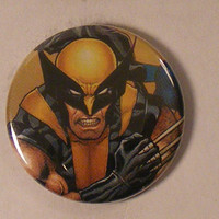 "Comic Book 1.5"" Button// Wolverine"
