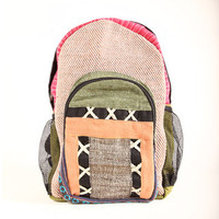 Electric Colors Cotton/Hemp Backpack (Nepal) | Overstock.com