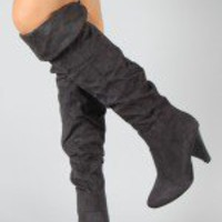 Bamboo Trinity-21 Cuff Thigh High Boot