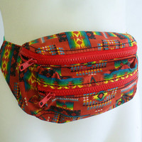 NEW Paprika Navajo Fanny Pack by Blim on Etsy