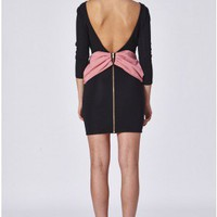 Bow Back Bodycon Dress - All Dresses - Dresses