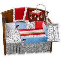 Trend Lab?- Dr. Seuss Cat in the Hat 4-Piece Crib Bedding Set and Accessories - buybuy BABY