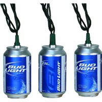 Amazon.com: River's Edge Indoor/Outdoor Party Light Set-10 Piece (Bud Light Cans): Sports & Outdoors