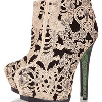 **Lace Wing Ankle Boots by CJG - Boots  - Shoes