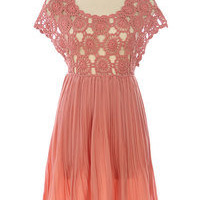 Women Dress In Rose Color, Size L