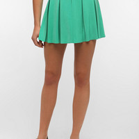 Pins And Needles Box Pleat Mini Skirt