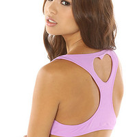 Lolli Swim The Sunday Girl Heart Cut Out Top