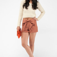 Take a Bow Shorts in Rust :: tobi