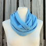 Infinity Scarf The GRANDE Versatile All Season Scarf in Sky BLUE Available in Many Colors